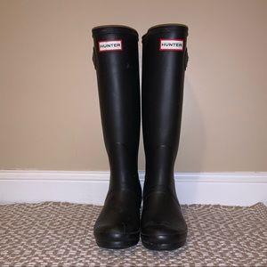 Tall Hunter Matte Rain Boots